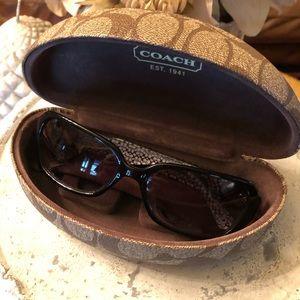 Coach Sunglasses & Case